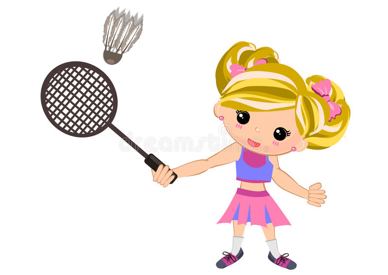 Play badminton clipart clip art freeuse download Playing badminton clipart girl 8 » Clipart Station clip art freeuse download