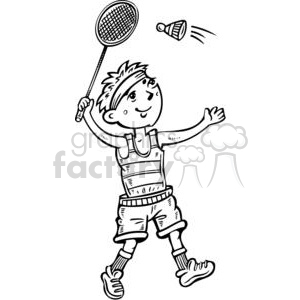 Play badminton clipart png royalty free stock cartoon boy playing badminton clipart. Royalty-free clipart # 381563 png royalty free stock