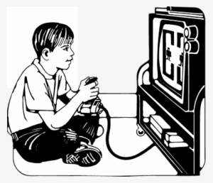 Play computer games clipart black and white png transparent library Black Transparent PNG Images | PNG Cliparts Free Download on ... png transparent library