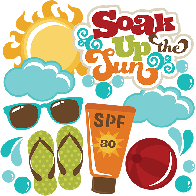 Play in the sun clipart png royalty free stock Soak Up The Sun SVG files for scrapbooking sun svg file beach ball ... png royalty free stock
