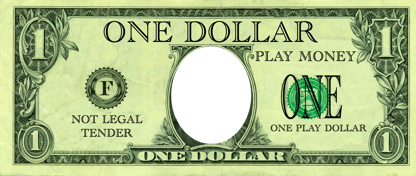 Play money free clipart clipart freeuse Fake Money Template | Best Template Idea clipart freeuse