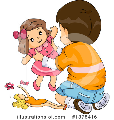 Play with dolls clipart png free Doll Clipart #1176719 - Illustration by BNP Design Studio png free