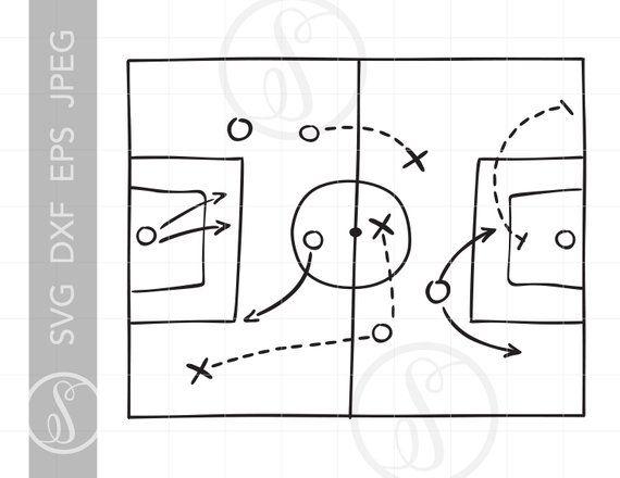 Playbook clipart vector stock Soccer Playbook Art Svg Cut File Clipart Downloads | Soccer ... vector stock