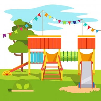 Playground clipart background clip art black and white stock Playground Vectors, Photos and PSD files | Free Download clip art black and white stock