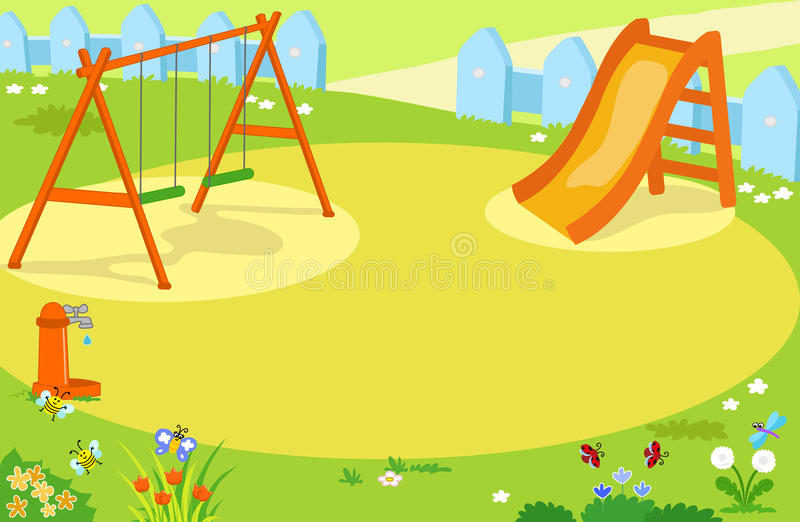 Playground clipart background image black and white library Playground background clipart 6 » Clipart Station image black and white library