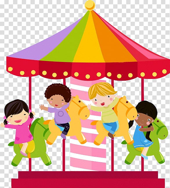 Playground clipart slide swing merry go round site stockphoto svg library stock Carousel illustration, Carousel , merry go round transparent ... svg library stock