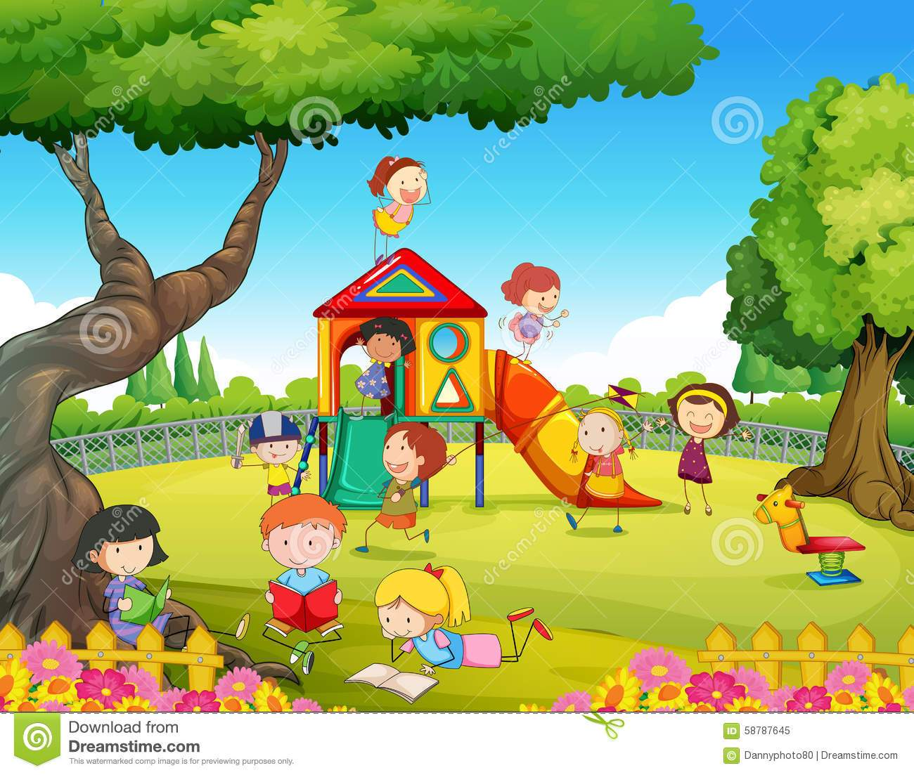 Playground images clipart clip freeuse Children playground clipart 6 » Clipart Portal clip freeuse