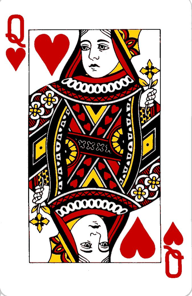 Playing card queen of hearts clipart cute svg royalty free stock 17 Best ideas about Queen Of Hearts Tattoo on Pinterest | Couple ... svg royalty free stock