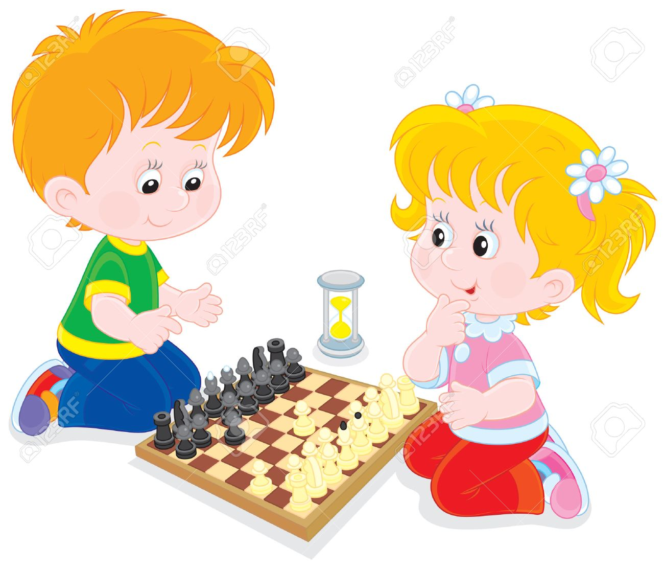 Playing chess clipart clipart freeuse Playing chess clipart 12 » Clipart Station clipart freeuse