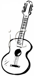 Playing guitar clipart black and white image library download Guitar Clip Art Black And White | Clipart Panda - Free ... image library download