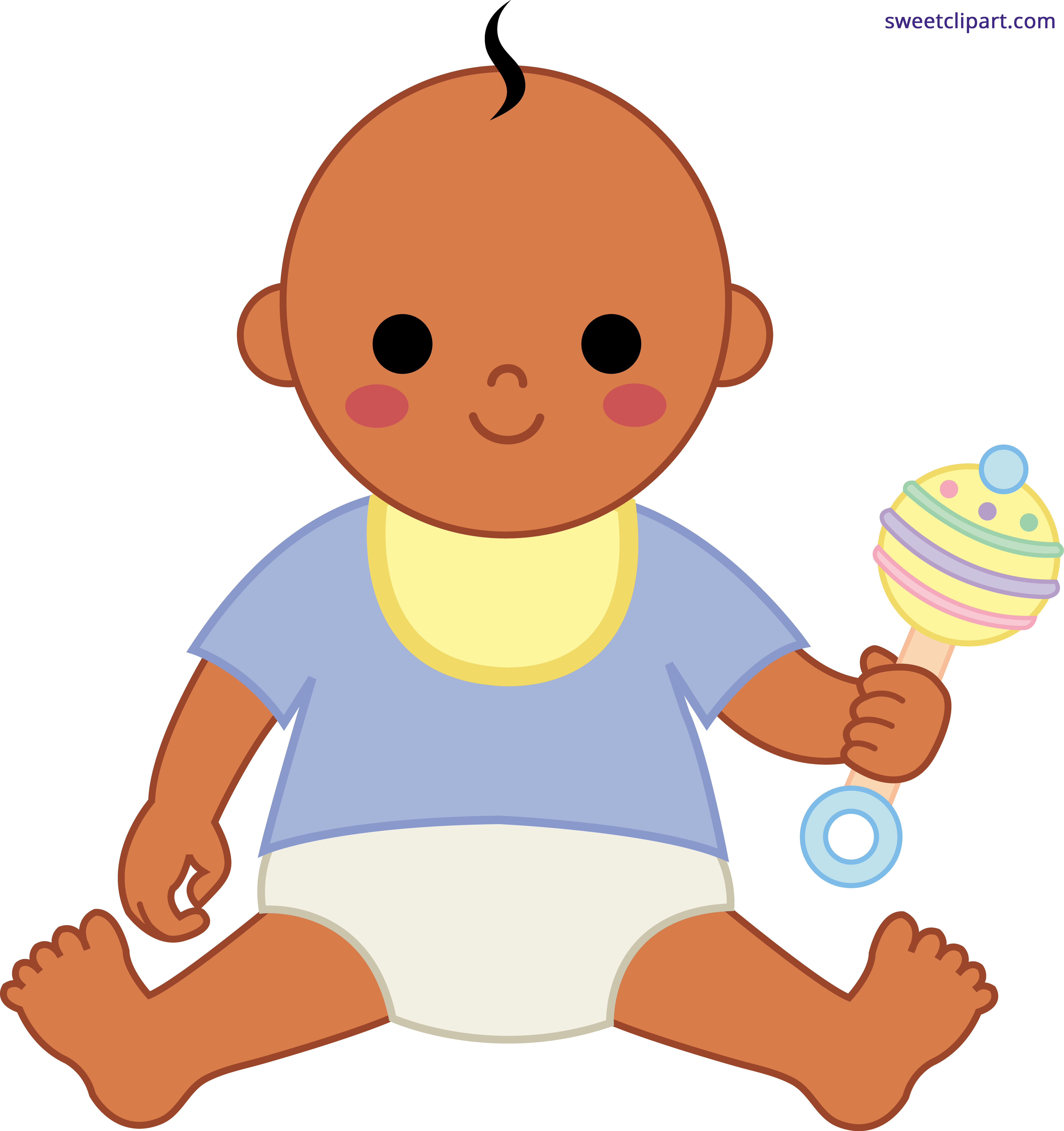 Playing house clipart svg download Baby Boy 2 Clipart - Sweet Clip Art svg download