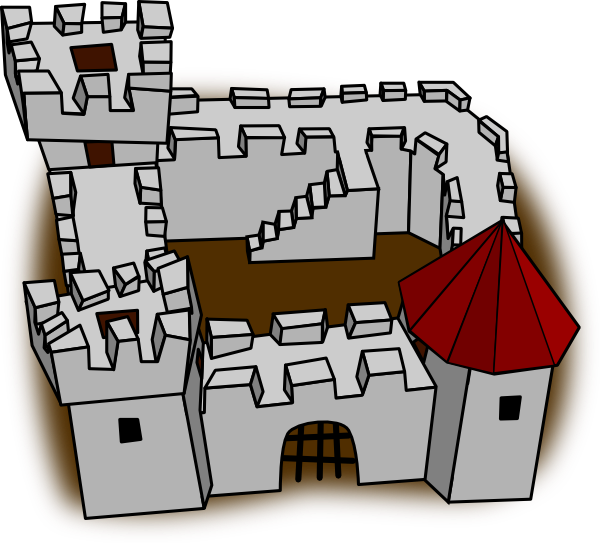 Playing house clipart free library Role Playing Map Castle Clip Art at Clker.com - vector clip art ... free library