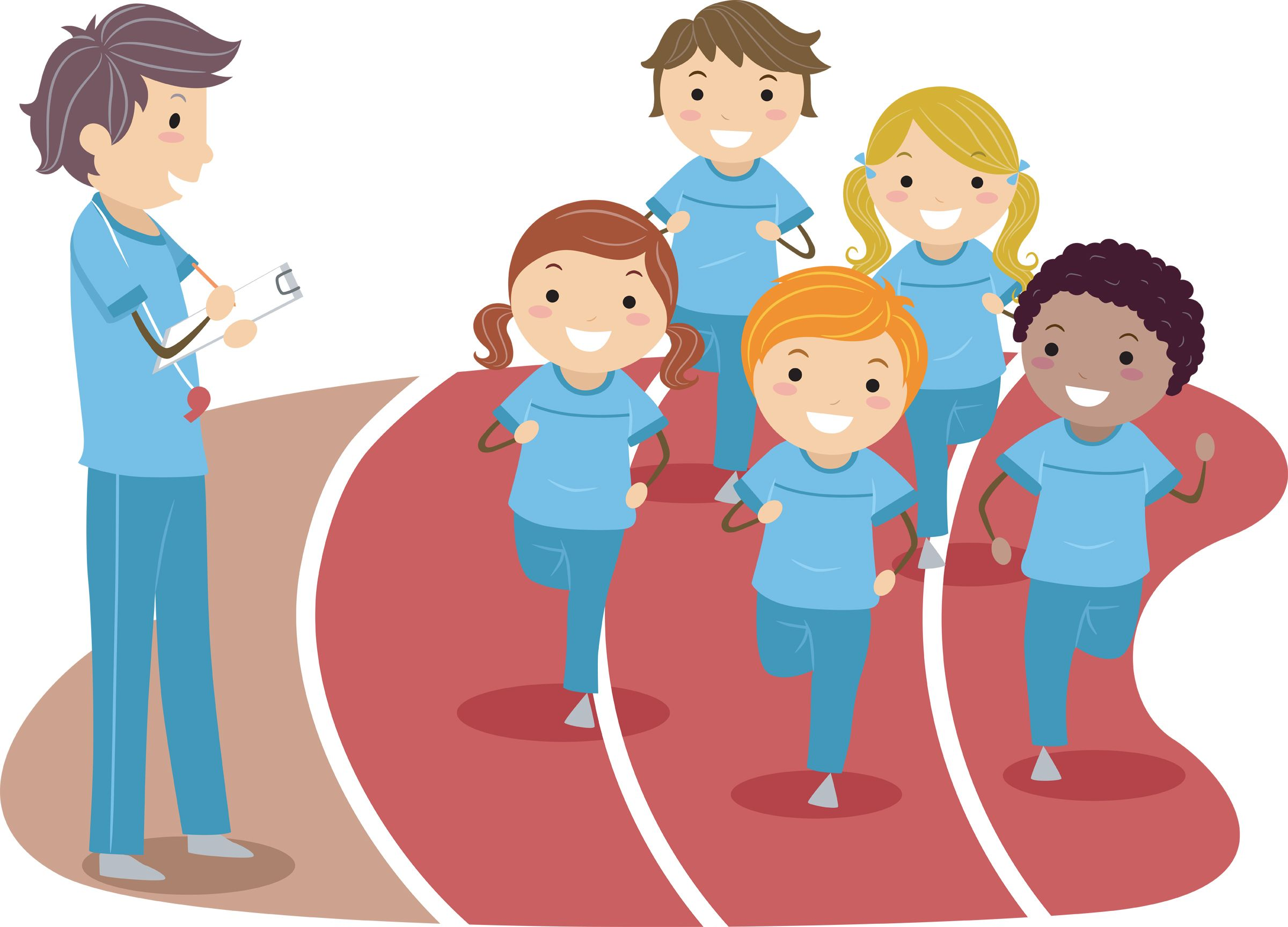 Playing in physical education clipart high five picture library library Physical Education Resource: PreK-12: Hundreds of Lesson ... picture library library
