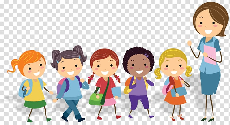 Playing in physical education clipart high five svg free download Woman and five children illustration, Teacher Physical ... svg free download