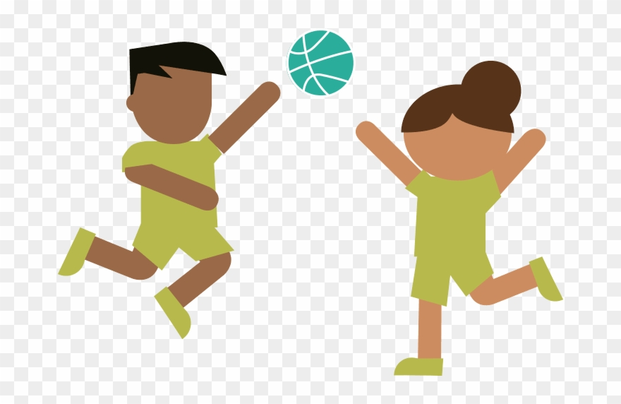 Playing in physical education clipart high five vector freeuse Collection Of Exercise Png High Quality - Physical Education ... vector freeuse