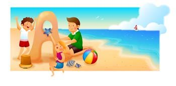 Playing in the sand clipart vector royalty free stock Free Childs Playing Sand on the seas Clipart and Vector ... vector royalty free stock
