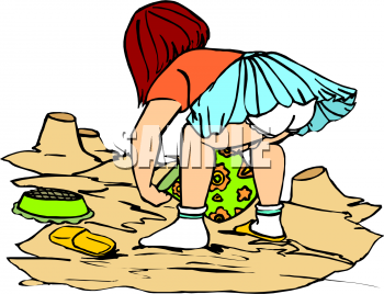 Playing in the sand clipart clip art freeuse download School Clip Art Picture of a Little Girl Playing in the Sand ... clip art freeuse download