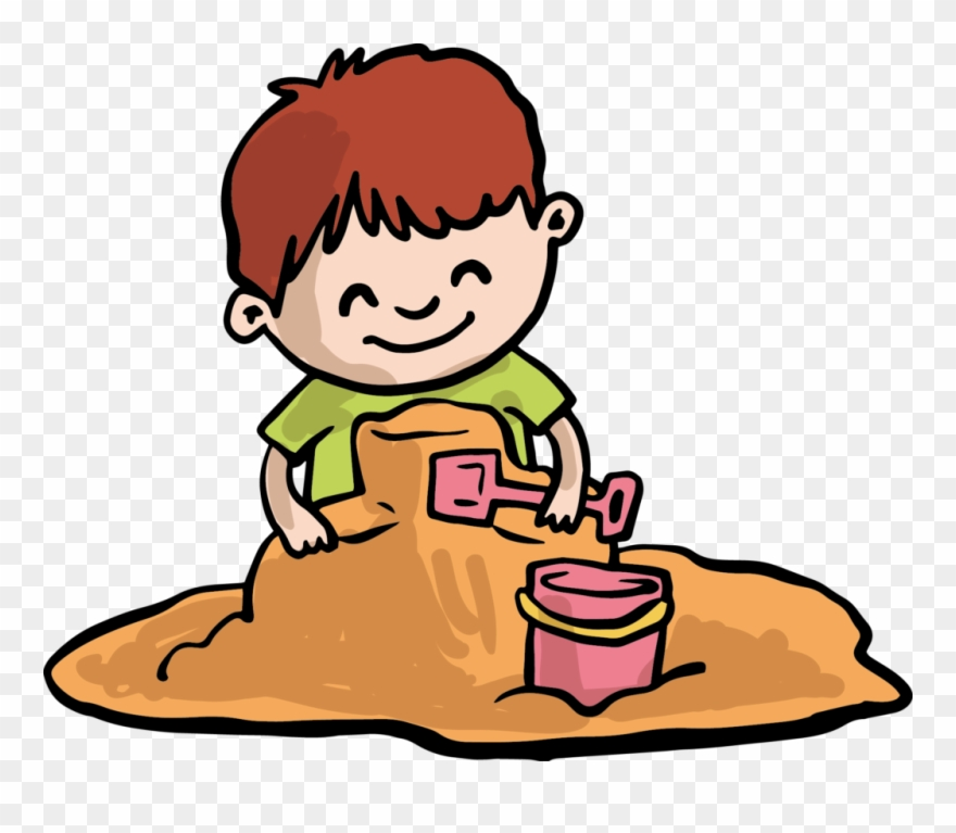 Playing in the sand clipart clipart transparent stock Kisspng Sand Play Child Clip Art Playing The Of Boy ... clipart transparent stock
