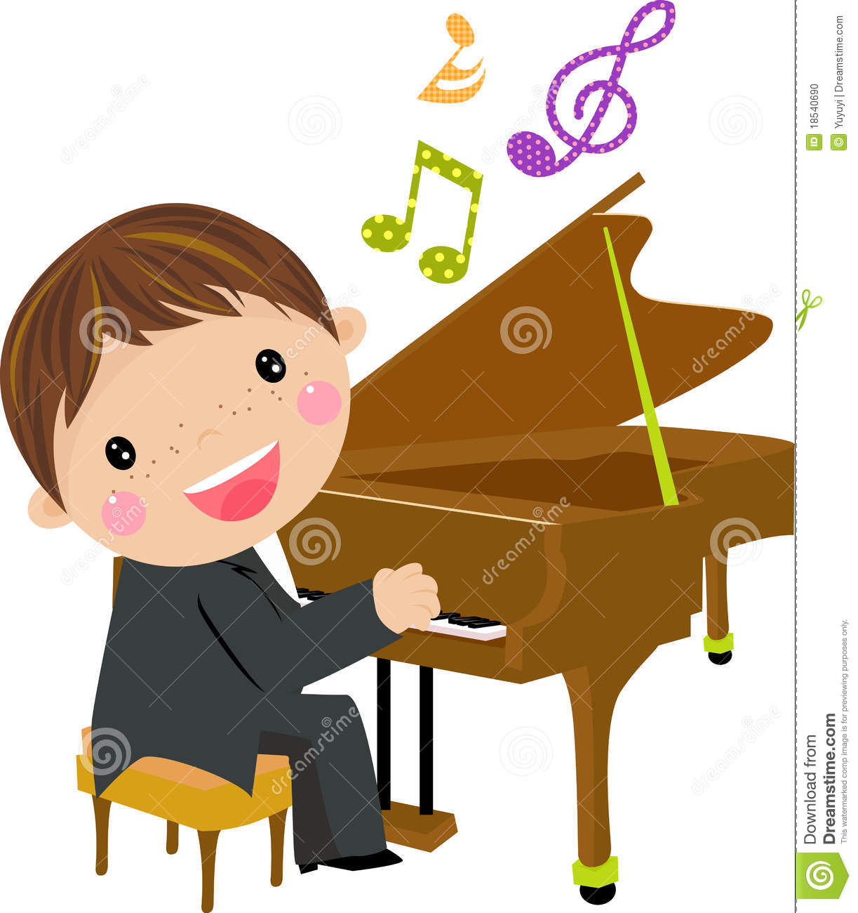 Playing piano clipart vector royalty free Playing piano clipart 8 » Clipart Station vector royalty free