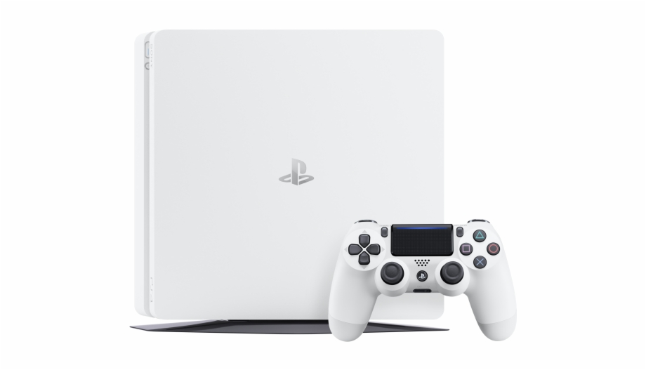 Playstation 4 slim clipart clip freeuse download Ps4 White - Playstation 4 Slim Blanca Free PNG Images ... clip freeuse download