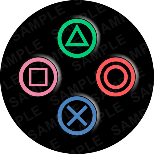 Playstation buttons clipart banner freeuse stock Playstation Buttons banner freeuse stock