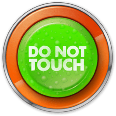 Please do not touch clipart clipart black and white stock Please Do Not Touch Sign transparent PNG - StickPNG clipart black and white stock