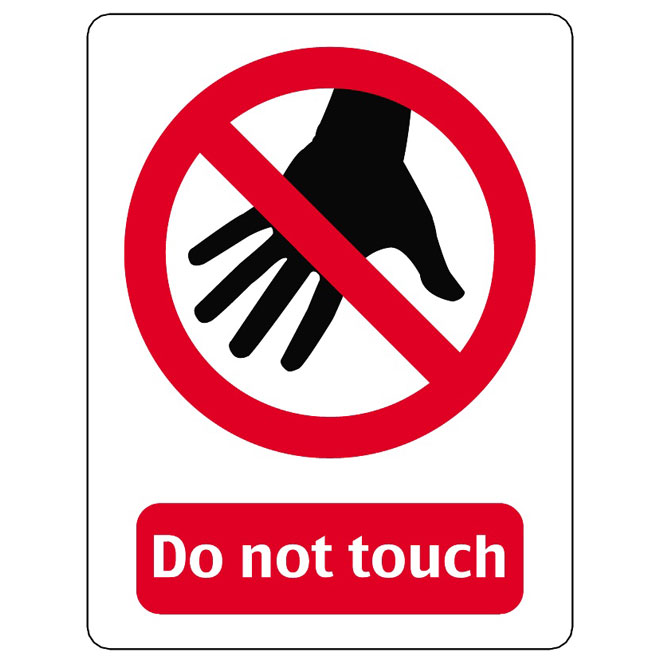 Please do not touch clipart jpg library library DO NOT TOUCH VECTOR SIGN - Free vector image in AI and EPS ... jpg library library