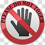 Please do not touch clipart jpg transparent library Please do not touch logo, Please Do Not Touch Sign ... jpg transparent library