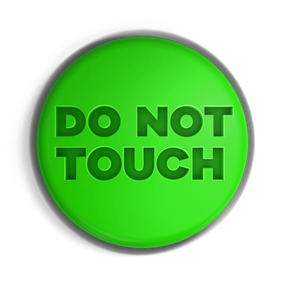 Please do not touch clipart jpg freeuse Do Not Touch Button transparent PNG - StickPNG jpg freeuse