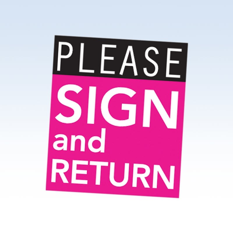 Please sign and return clipart clip transparent library Please sign and return clipart 8 » Clipart Portal clip transparent library