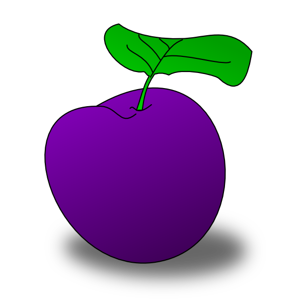 Plum clipart vector free download Plum Clip Art at Clker.com - vector clip art online, royalty ... vector free download
