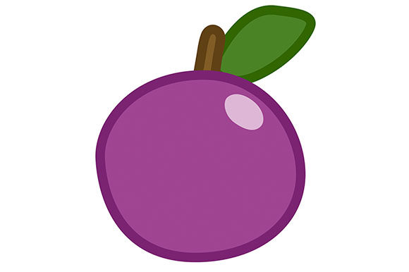 Plum clipart clip art royalty free library Plum Clipart - Vector EPS, PNG and JPG clip art royalty free library