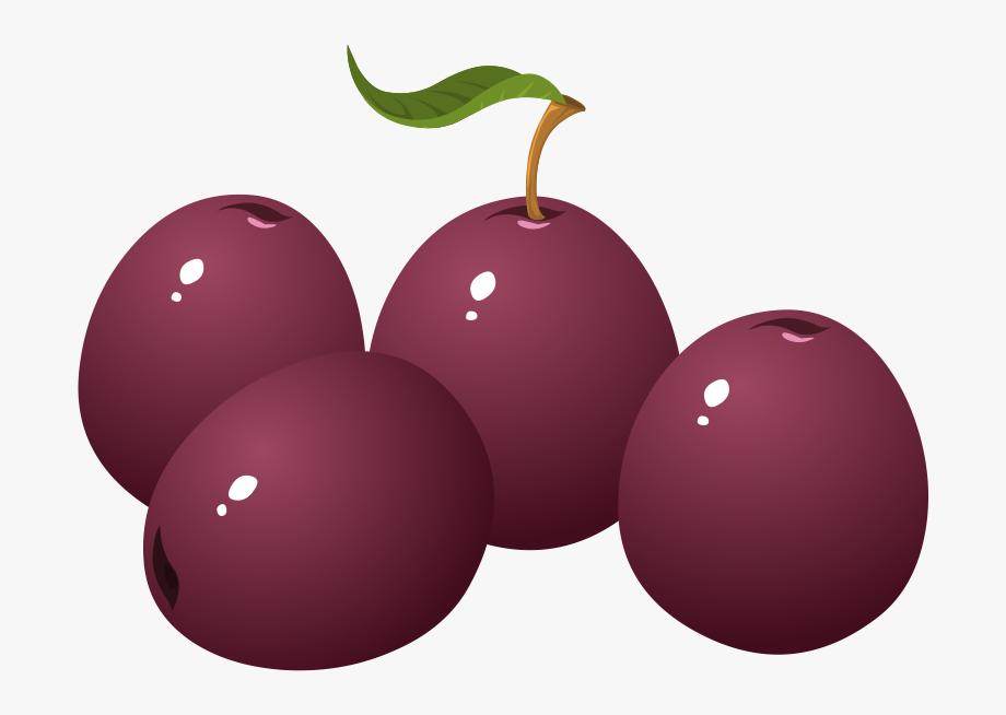 Plum clipart png free Png Plum Clipart Plum Fruit - Clip Art Plums #531778 - Free ... png free