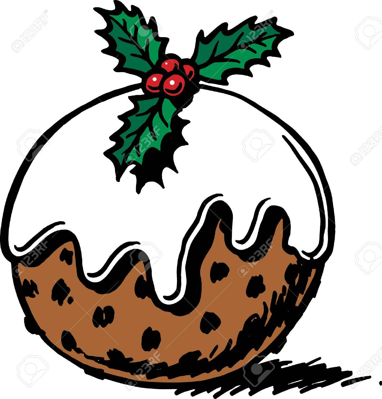 Plum pudding clipart image royalty free Pudding Clipart | Free download best Pudding Clipart on ... image royalty free