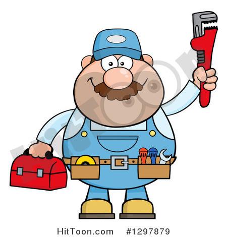 Plumbing cartoon clipart