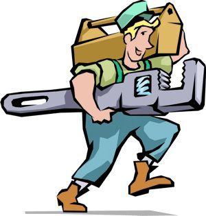Plumbing cartoon clipart banner free download Cartoon/Clipart Plumber | 3 wheelies | Pinterest | The o'jays ... banner free download