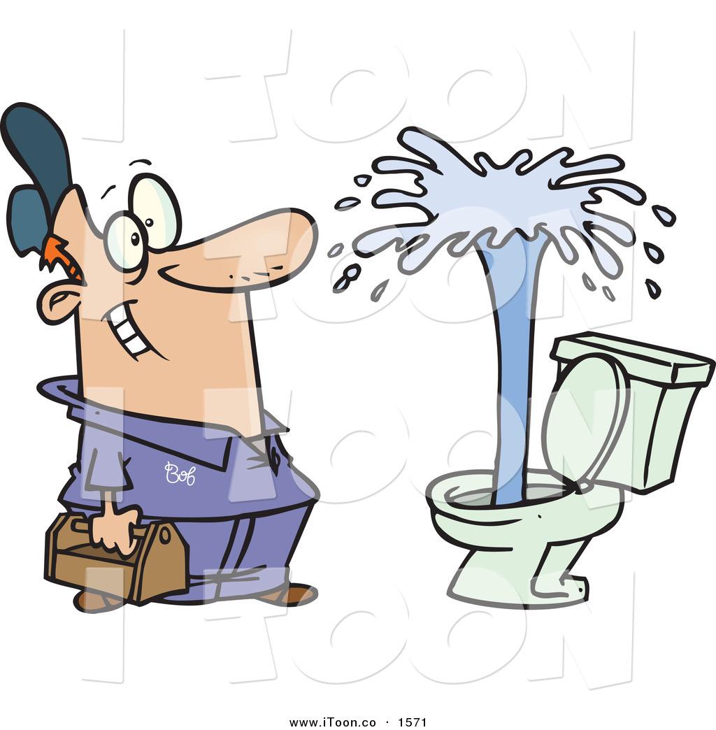 Plumbing cartoon clipart png library Cartoon plumber clipart free - ClipartFest png library