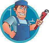 Plumbing clip art free royalty free download Plumber Clip Art - Royalty Free - GoGraph royalty free download