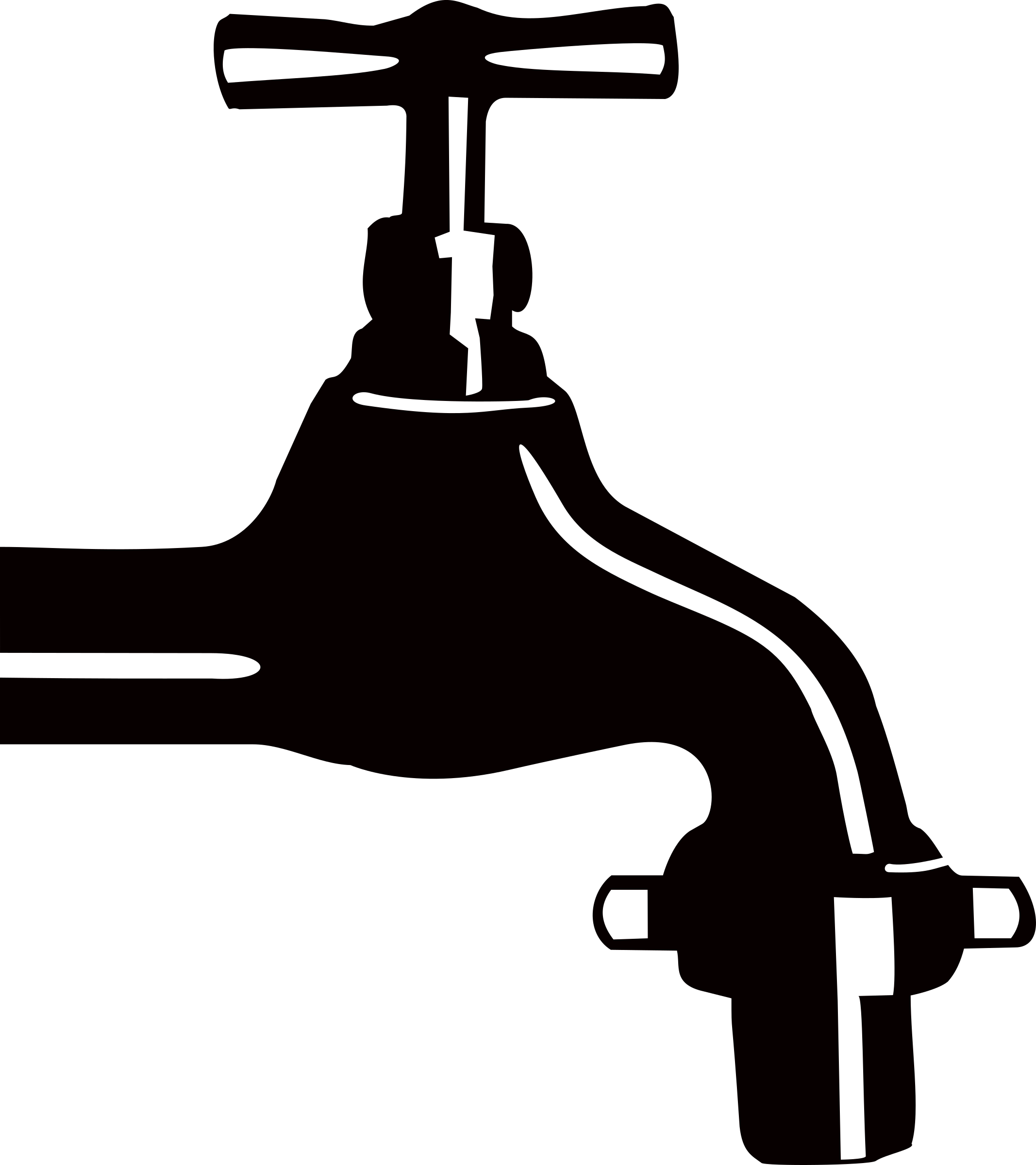 Plumbing clipart png black and white Clipart - Faucet png black and white