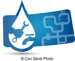 Plumbing logo clipart svg free download Vector Illustration of Repair plumbing vector - Design for repair ... svg free download