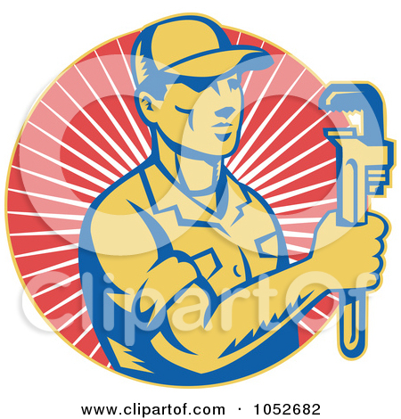 Plumbing logos clip art picture free stock Royalty-Free (RF) Plumbing Logo Clipart, Illustrations, Vector ... picture free stock