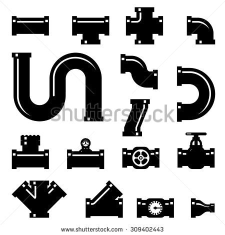 Plumbing pipe clipart banner freeuse library Pipe fitting clipart - ClipartFox banner freeuse library