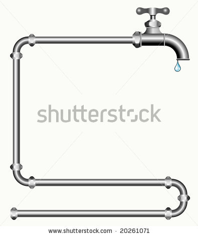 Plumbing pipe clipart vector freeuse download Plumbing Pipe Clipart - Clipart Kid vector freeuse download