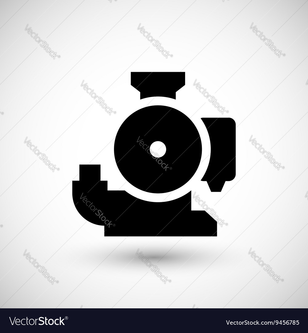 Plumbing pump icon clipart royalty free download Sewage pump icon Vector Image by motorama - Image #9456785 ... royalty free download