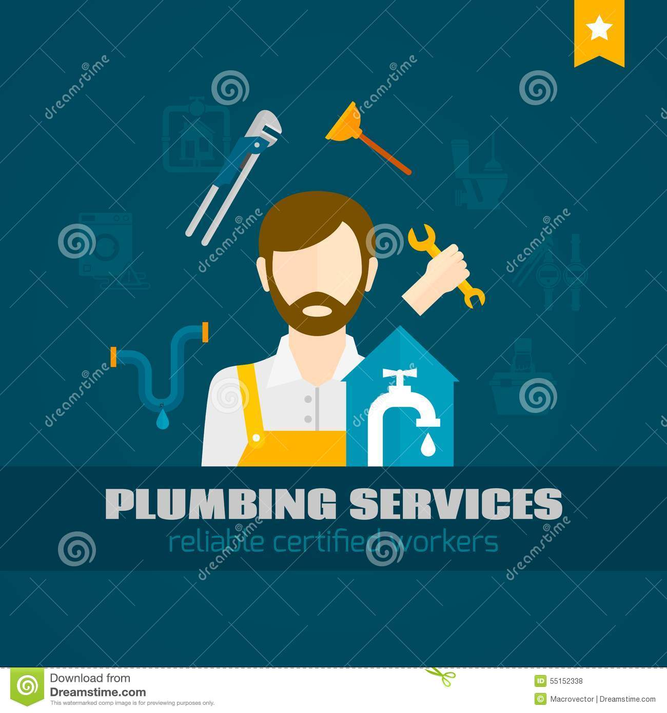 Plumbing pump icon clipart svg transparent Plumber Flat Icon Stock Vector - Image: 55152338 svg transparent
