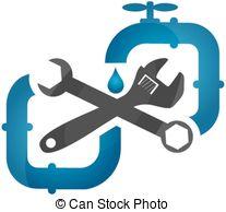 Plumbing symbols clipart clip art stock Clipart Vector of repair plumbing symbol - repair plumbing symbol ... clip art stock