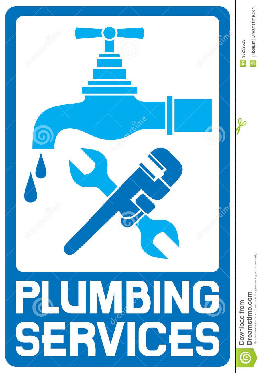 Plumbing symbols clipart banner black and white download Repair Plumbing Symbol Stock Photos - Image: 38252523 banner black and white download