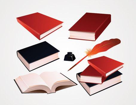 Plume clipart gratuit clip art royalty free library Vecteur de livre et stylo plume à encre Clip Art (gratuit), free ... clip art royalty free library