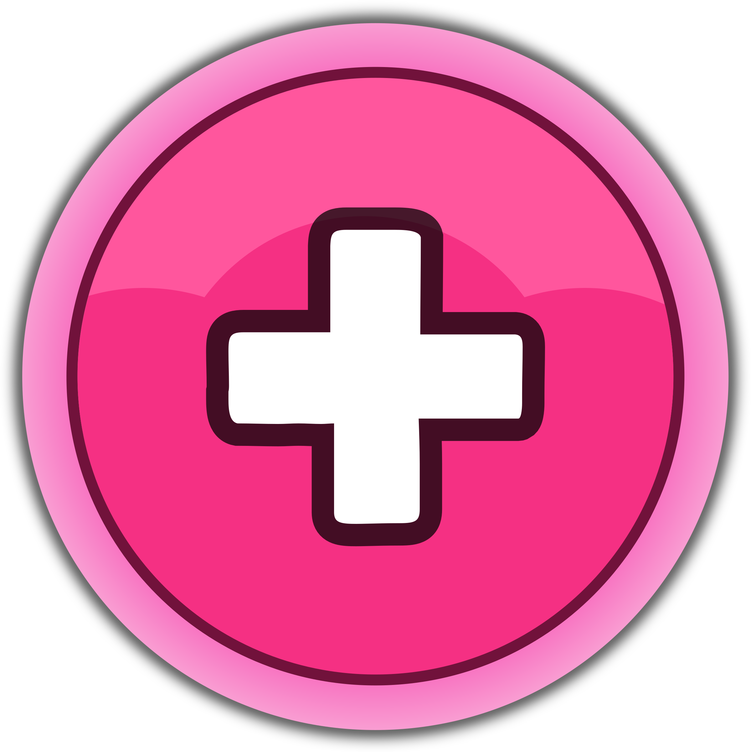 Plus button clipart jpg library library Clipart - pink button plus | Clipart Panda - Free Clipart Images jpg library library