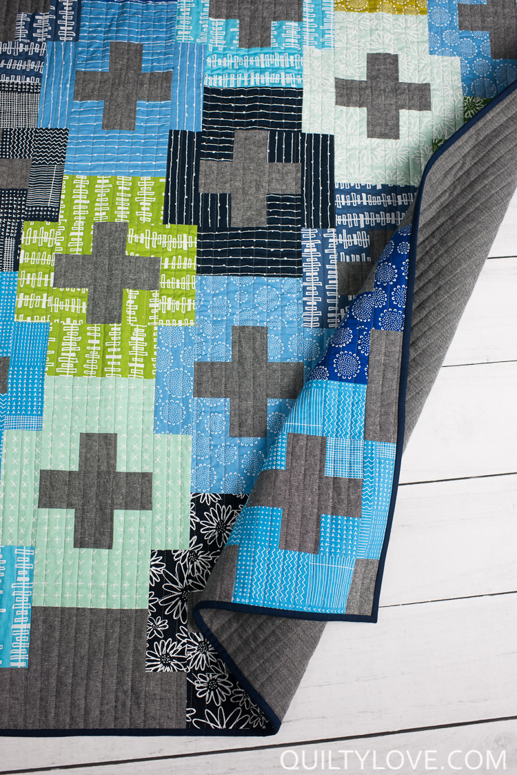 Plus quilting pattern clipart black and white graphic black and white stock Blueberry Park Plus and Minus Quilt - Easy plus quilt ... graphic black and white stock